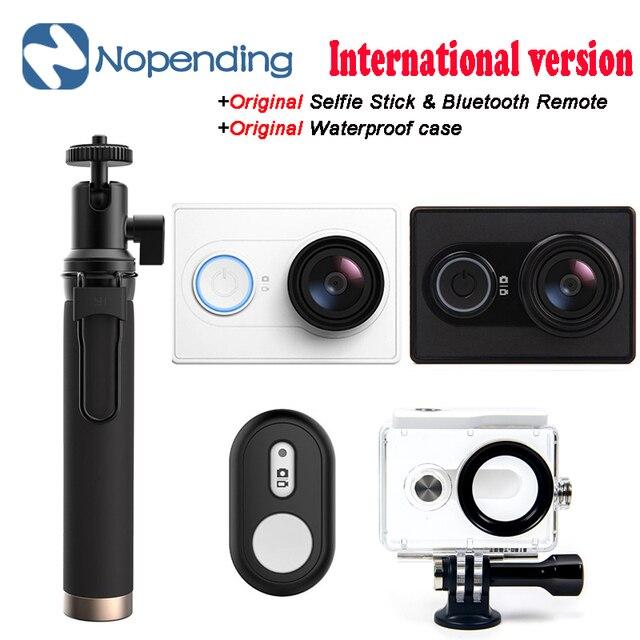 Оригинальный [EU. US. Издание] Международная Версия Xiaomi Xiaoyi Спорт Камеры Действия Wi-Fi Mi Камеры 16MP 60FPS Ambarella Видеокамеры
