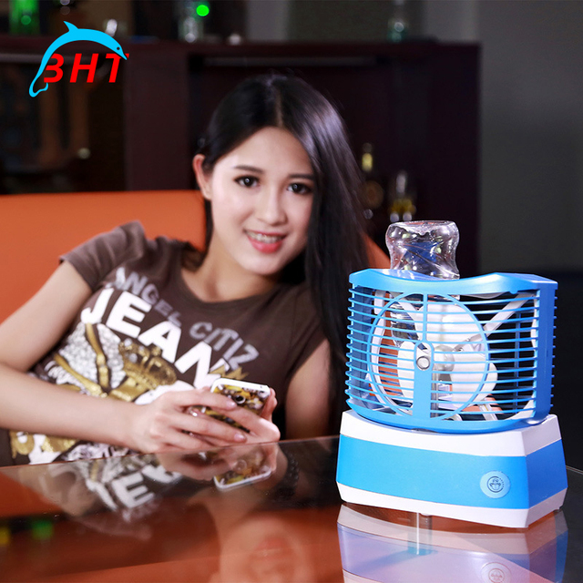 Ordinaire Popular Mini Portable Tabletop Air Conditioner Humidification Cooler  Cooling Fan Ultrasonic Air Aroma Diffuser Water Mist