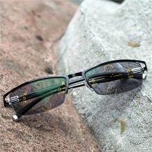 023761999b436 2019 lentes Progressivas Óculos de Leitura De Liga De Titânio Homens homens  Moda Sol Quadrado fotocromismo Óculos Multifocais pa.