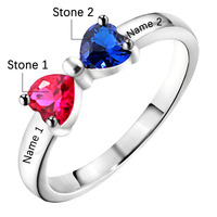 Ручной работы по индивидуальному заказу кольца из белого золота рубиновый итальянский Твердые 14Kt белого золота природных алмазов красный