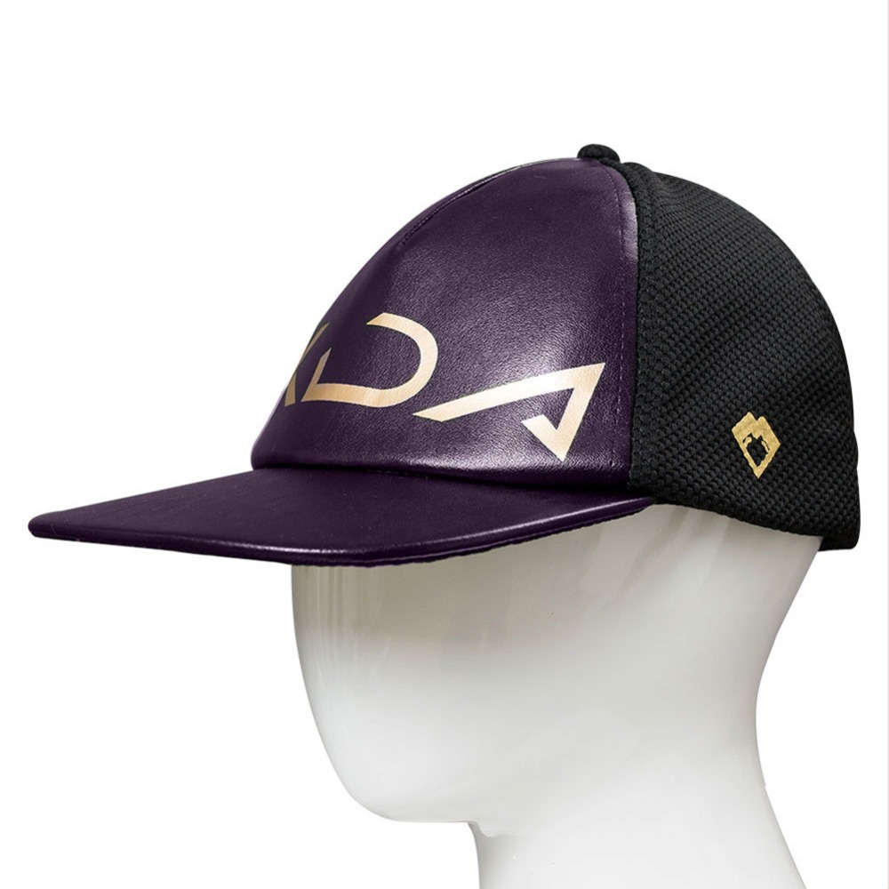 Men's Baseball Caps The Cheapest Price Game Lol Kda Akali Cosplay Hat Lol K/da Akali Cosplay Cap For Men Women Baseball Cap Hat Adjustable Fashionable Patterns