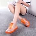 CuddlyIIPanda 2017 Mujeres Botas de Lluvia Botas Impermeable Botas Transparentes Zapatos de La Jalea de Ocio de Verano de Moda Botas Mujer Zapatos