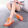 CuddlyIIPanda 2017 Mulheres Chuva Botas de Lazer Botas de Verão Botas Sapatos de Geléia de Moda À Prova D' Água Transparente Botas Mujer Zapatos