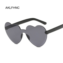 Brand Designer Vintage Sunglass Fashion Love Heart Sunglasse