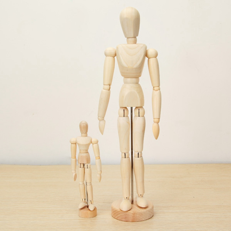 Brand-New-Wooden-Jointed-Doll-Man-Artist-Figures-Model-Painting-Sketch-Cartoon-Blockhead-Jointed-Model-Puppet (5)