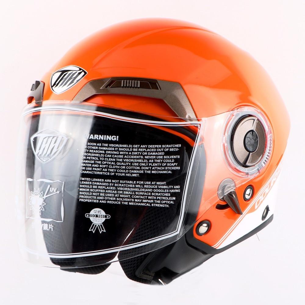 Мотоцикл мотоцикл открытым лицом шлем cascos лошади фирменное шлем мотокросс электрический велосипед шлем мода женщины 3/4 шлем детский