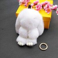 사랑스러운 토끼 키 체인 포켓몬 수제 토끼 머리 열쇠 고리