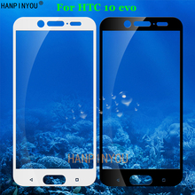 For HTC 10 Evo Full Coverage Tempered Glass 9H 2.5D Premium Screen Protector Film For HTC Bolt 5.5
