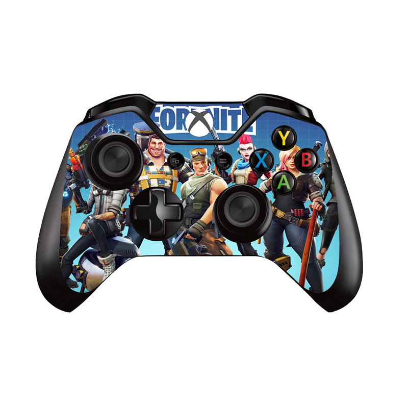 6 Styles For Fortress Night Vinyl Decal Skin Sicker Cover For Microsoft XBOX ONE Gamepad Skin Sticker For Xbox One Controller6 Styles For Fortress Night Vinyl Decal Skin Sicker Cover For Microsoft XBOX ONE Gamepad Skin Sticker For Xbox One Controller