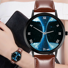 Heterogeneous Space Watch Casual Quartz Leather Strap Astronomy Planets Unisex Classy Creative Analog Watches Montre Femme kevin fashion women red watch student quartz analog watches leather wristwatch elegant vintage casual crystal montre femme hour