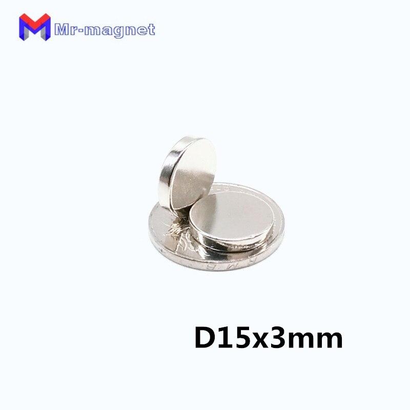 3mm Magnet Romantisch 200 Stücke 15x3mm Neodym Magnet Handwerk Kühlschrank Runde Magneten D15x3 Super Starke Leistungsfähige Rare Earth Ndfeb 15 Magnetische Materialien Heimwerker