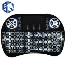 LED Projektor Wireless Tastatur 1200 Lumen Air Mouse Touchpad Handheld für Heimkino Optional Android Versio Englisch Tastatur