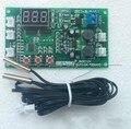 Dc 12 В Двойной Путь 3-проводной Вентилятор Цифровой Термостат Температуры Регулятор Скорости Контроллер