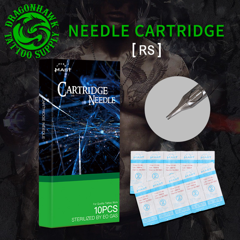 Disposable Sterile RS Tattoo Cartridge Needles Round Shader Supply For Tattoo Rotary Pen Supplies