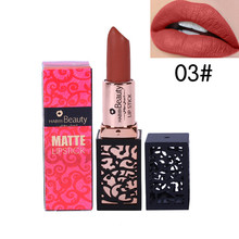 Habibi beauty matte lipstick pintalabios Lips makeup Moisturizer Long Lasting q71204