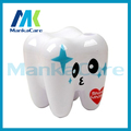 Tooth type Snack box plastic grain food storage jar sealed snack box containing dried fruit cans of tooth save box