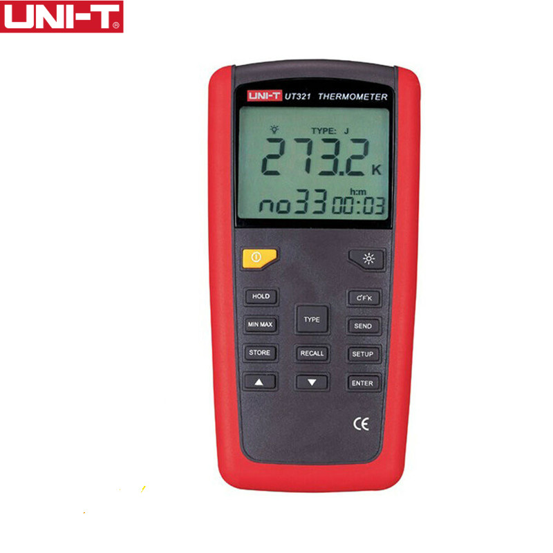 UNI-T UT321 Contact Type Termometers Range -150~1375 USB Interface Industrial Temperature Test SelectionUNI-T UT321 Contact Type Termometers Range -150~1375 USB Interface Industrial Temperature Test Selection