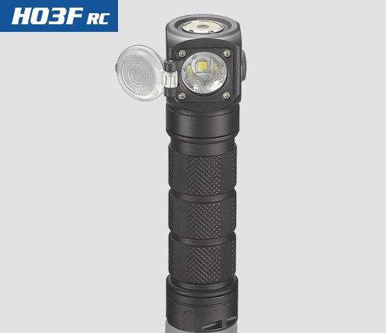 Nuovo Skilhunt H03 H03R H03F RC 1200 lumen freddo o bianco neutro USB magnetica di ricarica torcia elettrica + fascia + batteria - 5