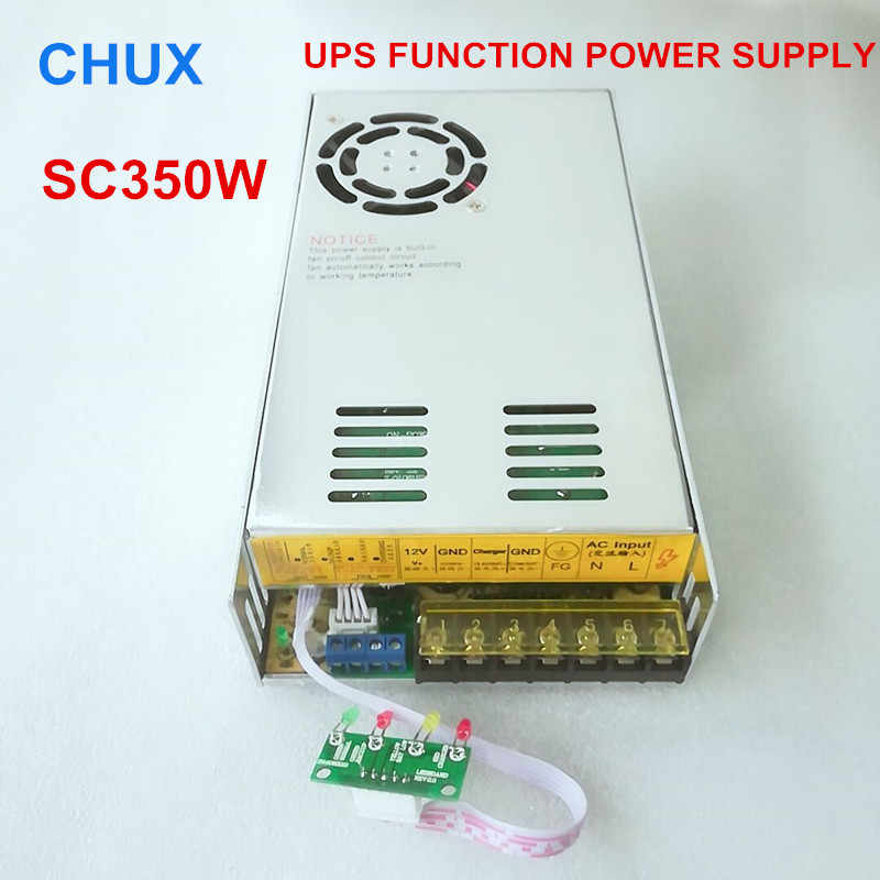350W UPS Charger Function Switching Power Supply 12v (13.8v) 24v (27v) 48v Single Output LED Power Suppliers