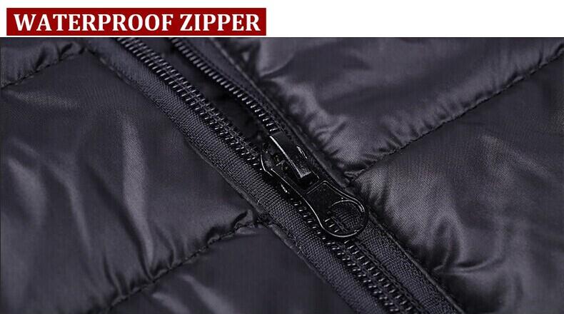 7.4V 4200mAh Electric Heated Vest Men Soft Shell Waterproof Windproof Winter Ski Snow Sportswear Thermal Warm Veste Mens Black NECK BACK HEATED VEST5)