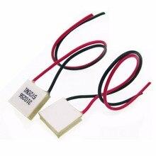 新しい10ピース熱電クーラーペルチェTES1 03102ミニ15*15ミリメートル低電力3v2a高効率ペルチェelementeモジュール