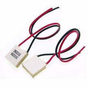 Image 1 - New 10 cái Nhiệt Cooler Peltier TES1 03102 mini 15*15 mét điện năng thấp 3V2A hiệu quả cao Peltier Elemente Mô đun