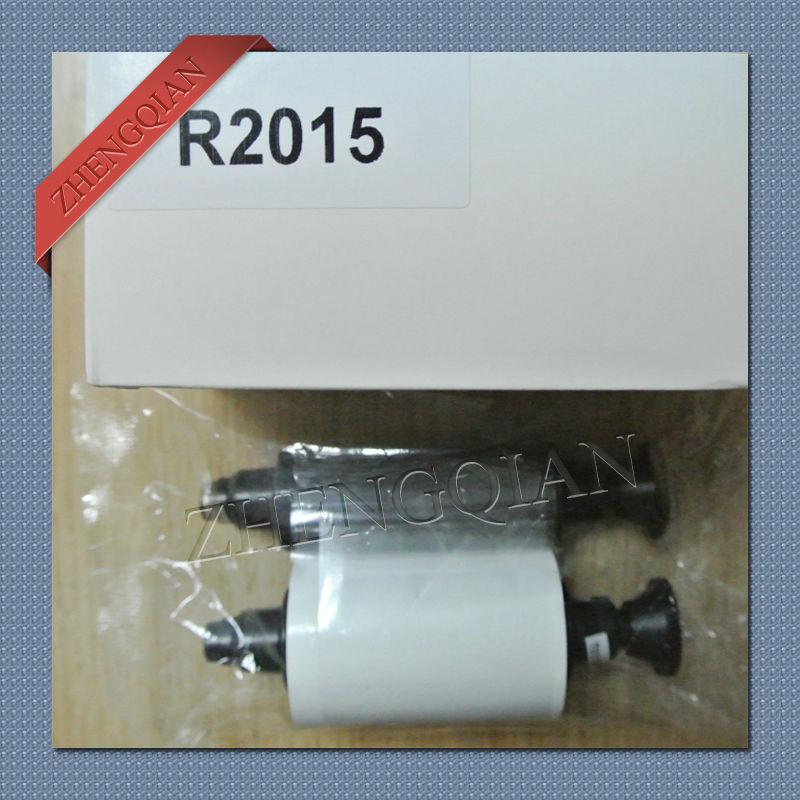 Compatible Evolis R2015 White Ribbon for Evolis Pebble 4 id card printer