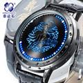 Silver soul around Mens Watches Top Brand Luxury Sport Men Led digital-watch clock Relogio Masculino Wrist Watches For Men 2016