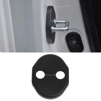 New 1 Pc Vehicle Car Door Lock Cover Protection Case For MITSUBISHI LANCER EX ASX Auto Car Accessories image
