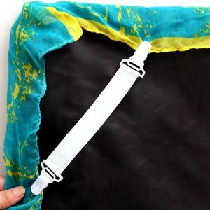 Зажим для листов 2019top 4 шт. кровати застежки для простыни матраса крепкий зажим эластичный держатель g90703