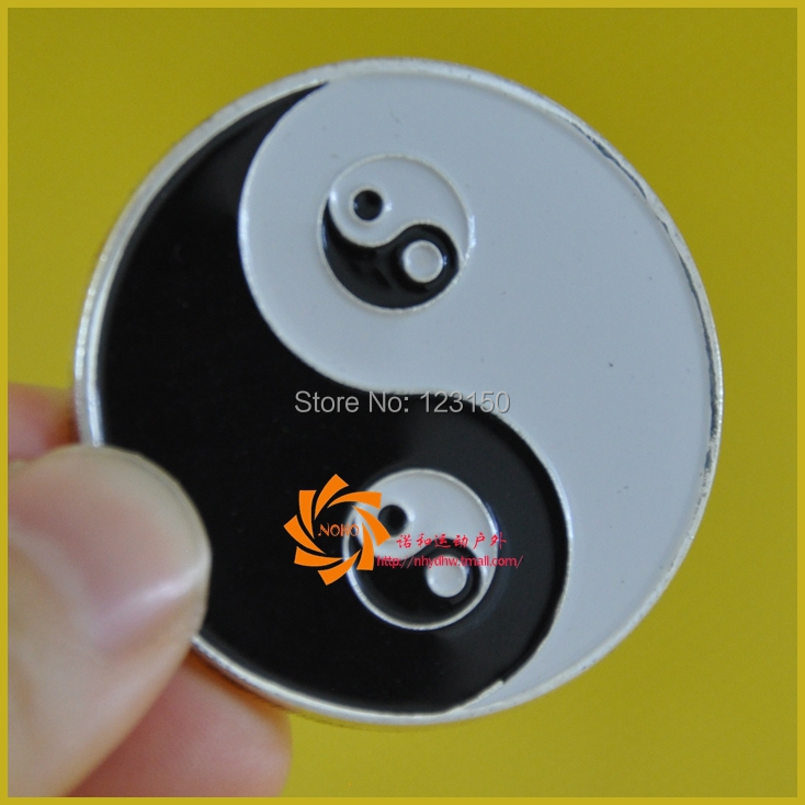 JZ-214 Card Protector, Poker Card Guard, New Arrival, Unique Design, Chinese TaiJi