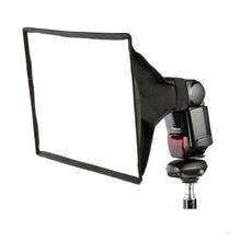 30X20 cm Универсальный Вспышки Площади Softbox Диффузор для Canon Nikon Sony Pentax Olympus Мец Yongnuo Speedlite