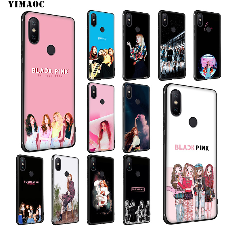 Blackpink Jisoo Jennie Rose Lisa Kpop Tpu Soft Silicone Phone Case Shell Cover For Samsung S7 Edge S8 S9 Plus Note 8 9 Good Taste Cellphones & Telecommunications Fitted Cases