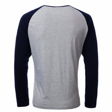 Raglan Three-Quarter Sleeve Crew Neck Unisex T-Shirt