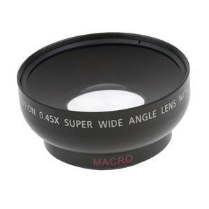 Image 3 - 43 مللي متر 0.45x زاوية واسعة عدسة مع ماكرو لكانون نيكون سوني بينتاكس 52 مللي متر موضوع DSLR كاميرا