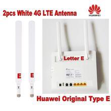 Подлинные для huawei 2 шт b593 5dbi sma штекер 4g антенны нагрузочно