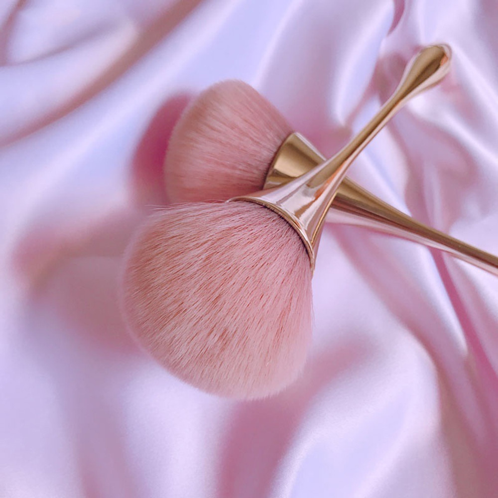 Blush-Brush Make-Up-Brush-Tool-Set Cosmetic Rose-Gold-Powder Professional Large Best-Selling