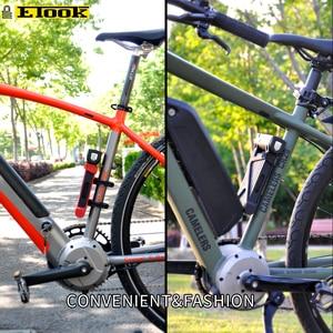 Image 5 - Etook מנעול אופניים מתקפל אופני הרי מנעול החזק אנטי גניבה אופנוע כבד מנעול חשמלי אופני ET590