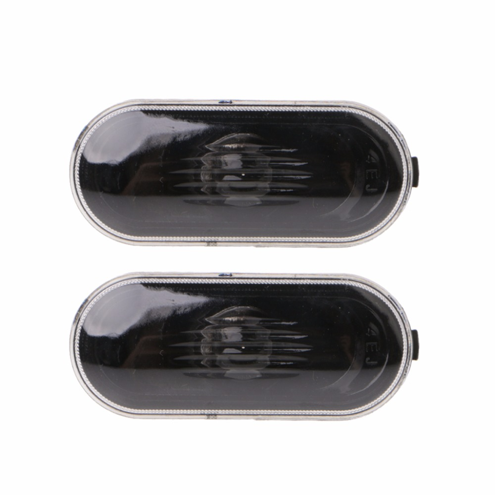 2 Pcs Free Side Marker Turn Light For Para Golf/Jetta/Bora MK4\B5\B5.5\R32 New Beetle Indicator Beam Bulb Cover New