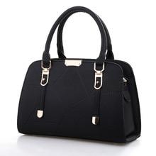 Fashion Women's Handbag Women Casual PU Leather Handbag Female Designers Brand Shoulder Messenger Bags Multi-color Women Bags