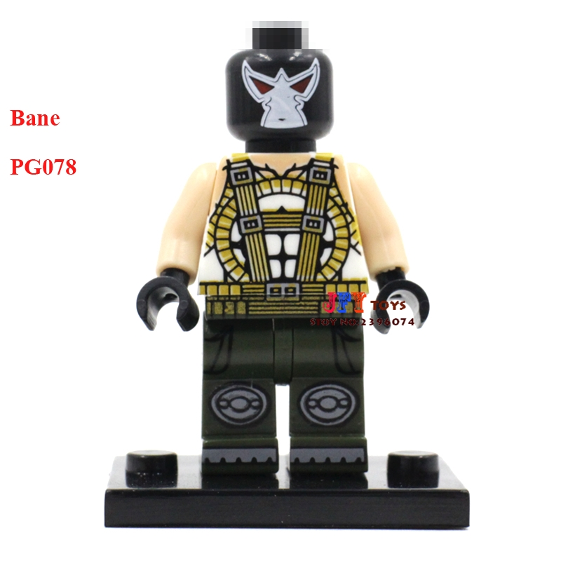 50pcs superhero Bane movie building blocks bricks friends for girl boy kids children toys brinquedos menina