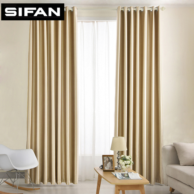 High Quality Sparkle Silk Flannel Heavy Solid Soundproof Thermal Blackout  Curtains For Living Room Modern The