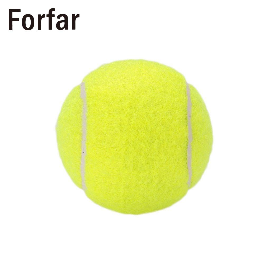 Tennis Ball Durable Elasticity Round Training Learning Sports Exercise Adults