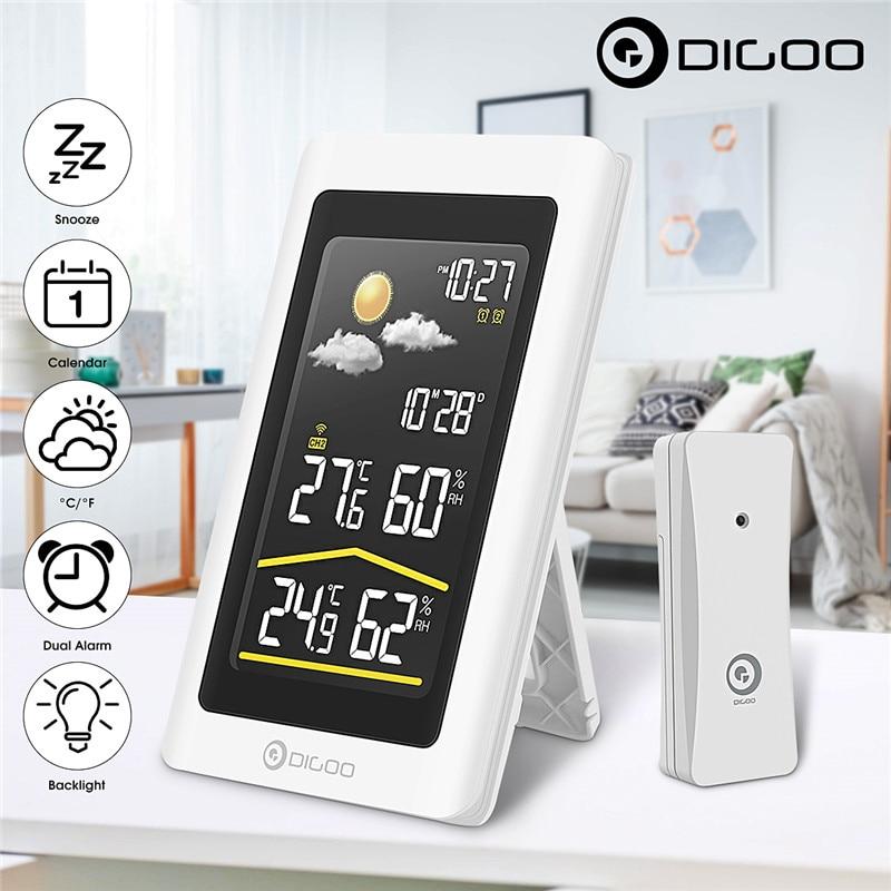 Digoo DG TH11300 Smart Home Outdoor Weather Station Hygrometer Thermometer Digital Forecast Sensor Humidity Temperature Sensor