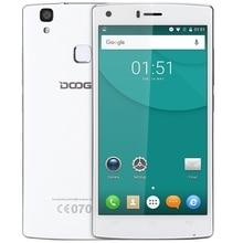 Doogee x5 max mtk6580 android 6.0 quad core empreintes digitales intelligente téléphone 5.0 pouces HD 1280*720 1 GB RAM 8 GB ROM 8MP Caméra Mobile Téléphone
