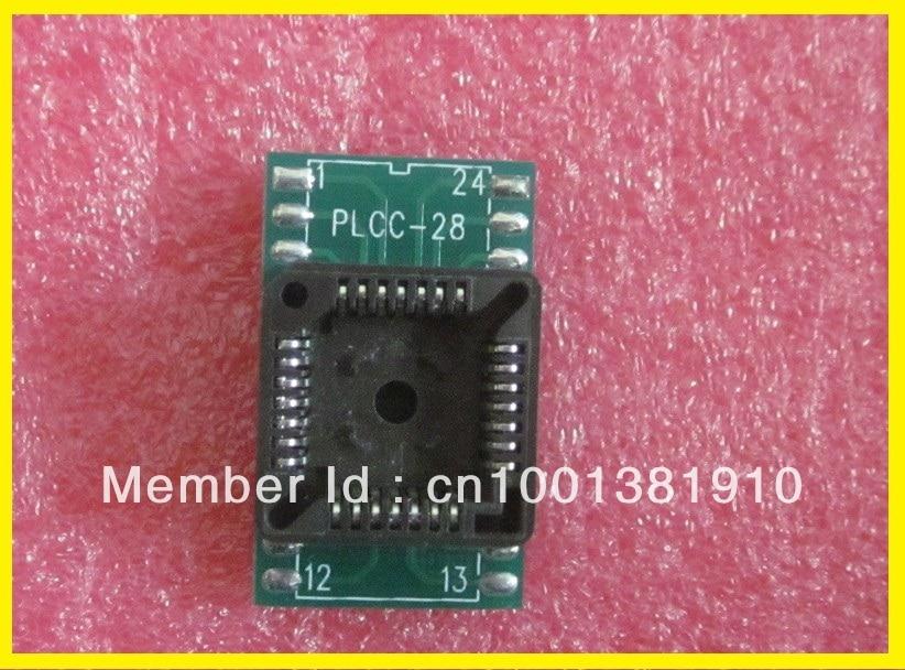 משלוח חינם! 50pcs / lot PLCC מתאם PLCC28 ל DIP24 - אלקטרוניקה במשרד
