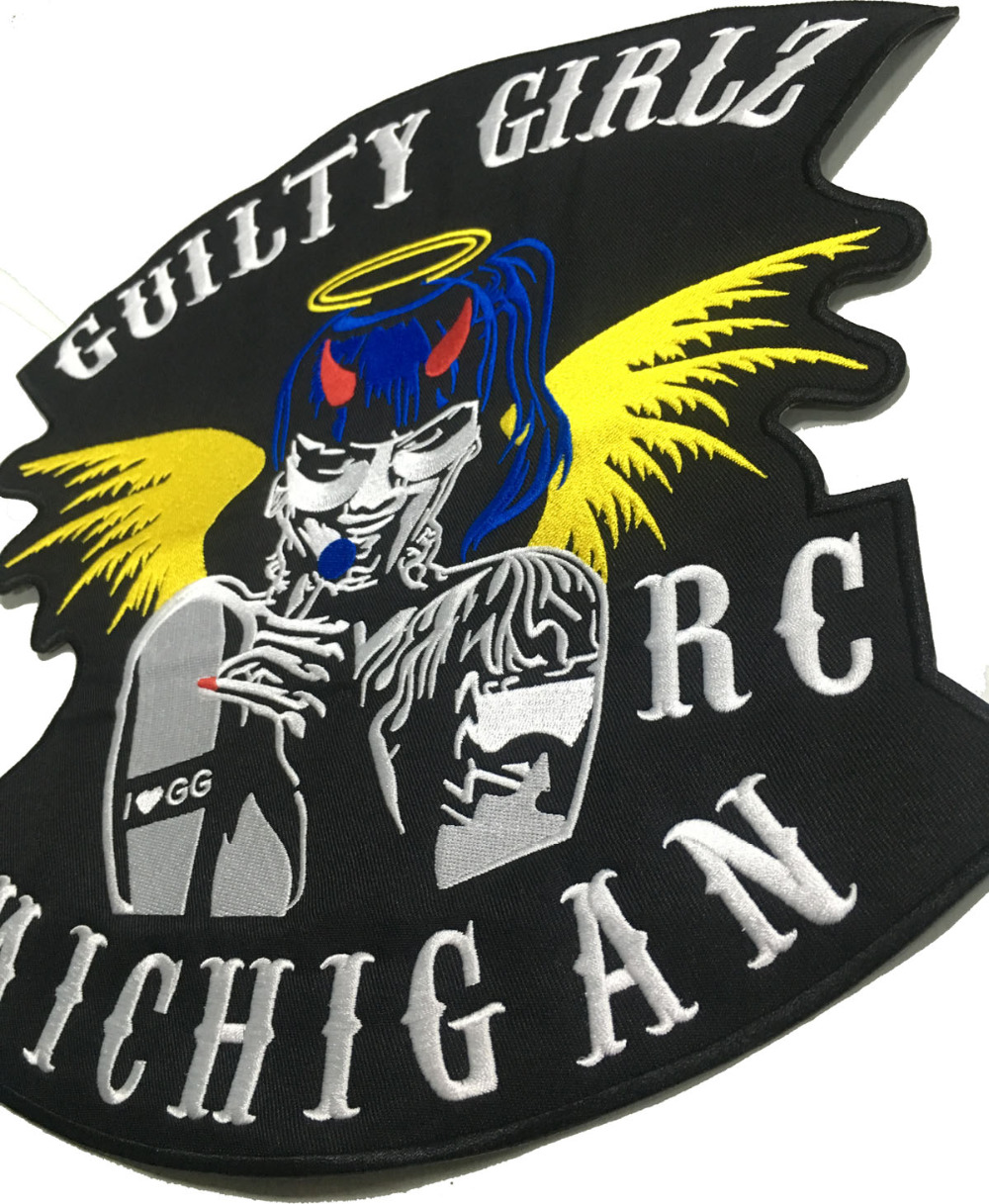 LTY GIRLSBIKER RC MICHIGAN MOTORCYCLE CLUB PATCH (3)