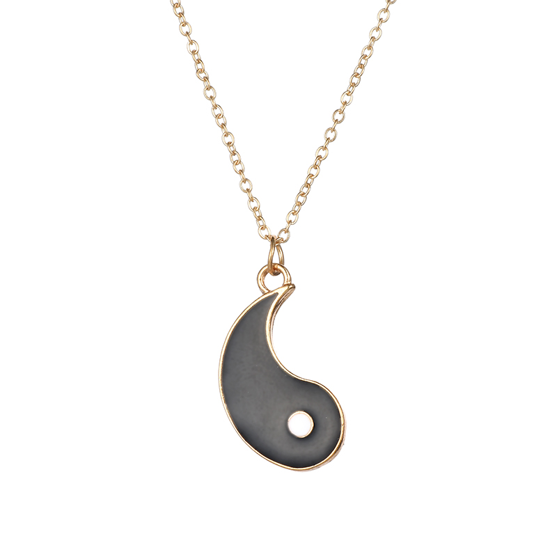 HTB1oVhQI7SWBuNjSszdq6zeSpXac - Fashion Jewelry YOU ME Ying Yang Statement Necklaces Taiji Bagua Charm Pendant Jewelry for Lovers colar masculino Women