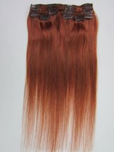 clip in sets products 7pcs clip in human hair extensions 16-22″ straight natural colour 7A grade Brazilian human hair extensions