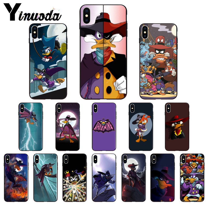 Phone Bags & Cases Cellphones & Telecommunications Strict Yinuoda Darkwing Duck Novelty Fundas Phone Case Cover For Iphone X Xs Max 6 6s 7 7plus 8 8plus 5 5s Se Xr Quality And Quantity Assured